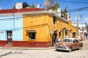 Cuba Fuerte Collection - Trinidad Street Scene III by Philippe Hugonnard