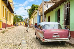 Cuba Fuerte Collection - Trinidad Street Scene by Philippe Hugonnard