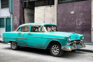 Cuba Fuerte Collection - Turquoise Chevy by Philippe Hugonnard