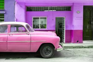 Cuba Fuerte Collection - Vintage Pink Car of Havana by Philippe Hugonnard