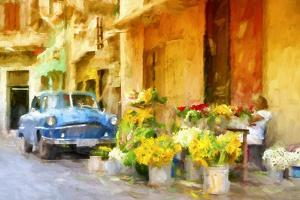 Cuba Painting - Colors of Sunflowers by Philippe Hugonnard