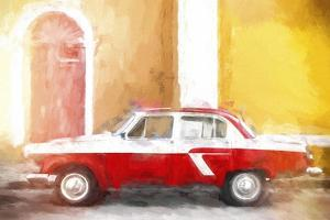 Cuba Painting - Warm Colors by Philippe Hugonnard
