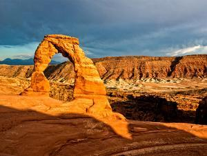 Delicate Arch - Landscape - Arches National Park - Utah - United States by Philippe Hugonnard