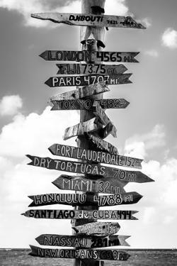 Destination Signs - Key West - Florida by Philippe Hugonnard