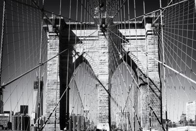 Details Brooklyn Bridge - Manhattan - New York - United States by Philippe Hugonnard