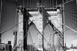 Details Brooklyn Bridge - Manhattan - New York - United States by Philippe Hugonnard