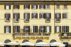 Dolce Vita Rome Collection - Building Facade Yellow by Philippe Hugonnard