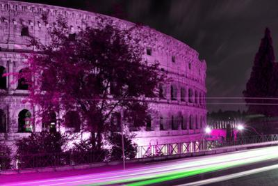 Dolce Vita Rome Collection - Colosseum Pink Night by Philippe Hugonnard