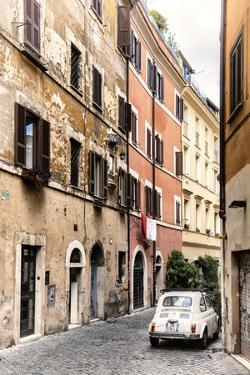 Dolce Vita Rome Collection - Fiat 500 in Rome II by Philippe Hugonnard