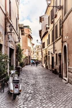 Dolce Vita Rome Collection - Scooter in street II by Philippe Hugonnard