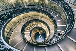 Dolce Vita Rome Collection - Spiral Staircase V by Philippe Hugonnard