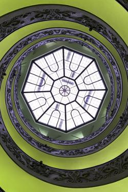 Dolce Vita Rome Collection - The Vatican Spiral Staircase Lime Green II by Philippe Hugonnard