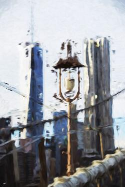 Double Towers - In the Style of Oil Painting by Philippe Hugonnard