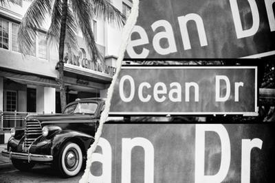 Dual Torn Posters Series - Miami by Philippe Hugonnard
