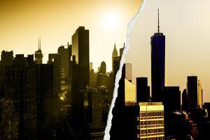 Dual Torn Posters Series - New York by Philippe Hugonnard