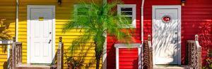 Duo Colored Houses - Florida by Philippe Hugonnard