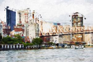 Ed Koch - In the Style of Oil Painting by Philippe Hugonnard