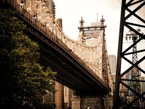 Ed Koch Queensboro Bridge (Queensbridge) View, Manhattan, New York, United States, Vintage by Philippe Hugonnard