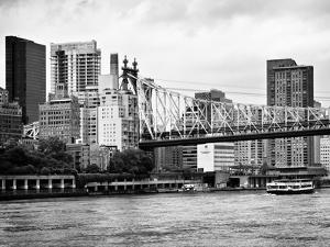 Ed Koch Queensboro Bridge, Sutton Place and Buildings, East River, Manhattan, New York by Philippe Hugonnard