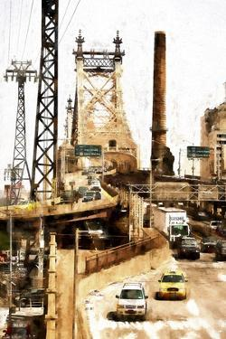 Ed Koch Queensboro Bridge Traffic II by Philippe Hugonnard