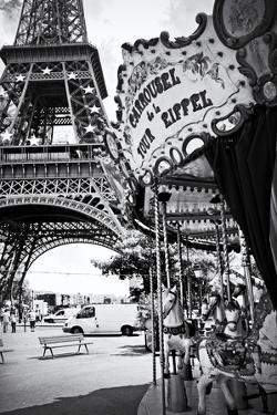 Eiffel Tower - Le Carrousel - Paris - France by Philippe Hugonnard