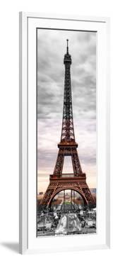 Eiffel Tower, Paris, France - Black and White and Spot Color Photography by Philippe Hugonnard
