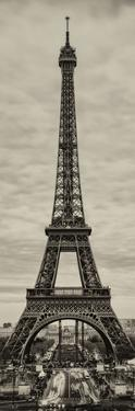Eiffel Tower, Paris, France - Sepia - Tone Vintique Photography by Philippe Hugonnard