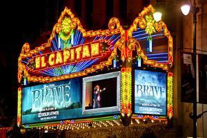 El Capitan - Hollywood Boulevard - Los Angles - Californie - United States by Philippe Hugonnard