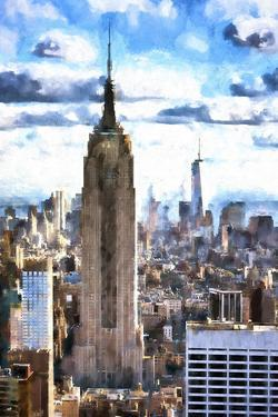Empire State & 1WTC by Philippe Hugonnard