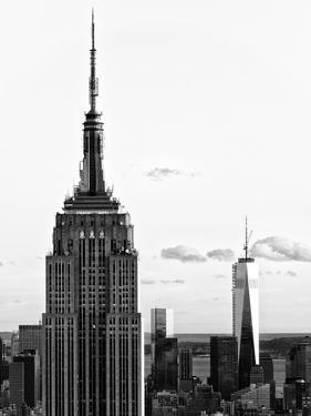 Empire State Building and One World Trade Center (1 WTC), Manhattan, New York by Philippe Hugonnard