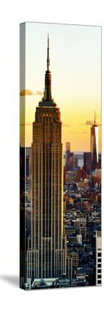 Empire State Building and One World Trade Center at Sunset, Midtown Manhattan, New York City