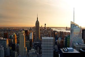 Empire State Building - Sunset - Manhattan - New York City - United States by Philippe Hugonnard