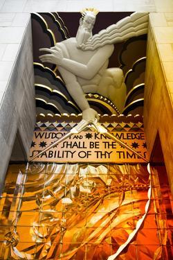 Entry Rockefeller Center - Manhattan - New York City - United States by Philippe Hugonnard