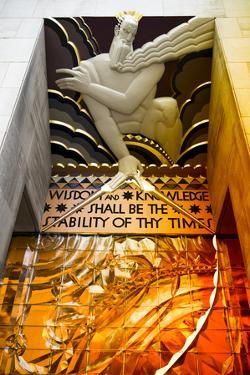 Entry Rockefeller Center - Manhattan - New York City - United States by Philippe Hugonnard
