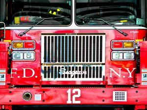 Fire Truck NYC, Manhattan, New York, United States by Philippe Hugonnard