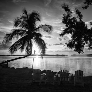 Four Chairs at Sunset - Florida by Philippe Hugonnard