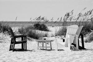 Four Chairs on the Beach - Florida by Philippe Hugonnard