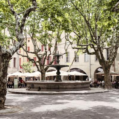 France Provence Square Collection - La Place aux Herbes - Uzès by Philippe Hugonnard