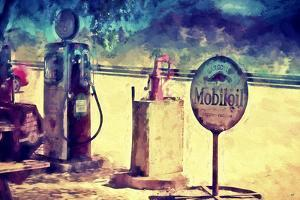 Gas Station 66 by Philippe Hugonnard