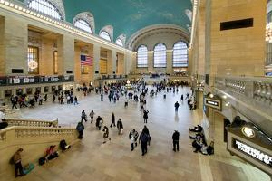 Grand Central Station - 42nd Street - Manhattan - New York City - United States by Philippe Hugonnard