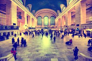 Grand Central Terminal at 42nd Street and Park Avenue in Midtown Manhattan in New York by Philippe Hugonnard