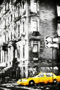 Harlem Taxi II - In the Style of Oil Painting by Philippe Hugonnard