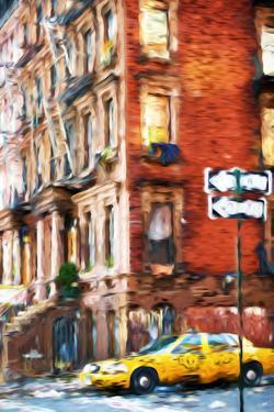 Harlem Taxi - In the Style of Oil Painting by Philippe Hugonnard