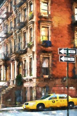Harlem Taxi by Philippe Hugonnard