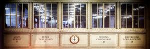 Instants of NY Series - Antique Glass in the Corridors of the Grand Central Terminal by Philippe Hugonnard