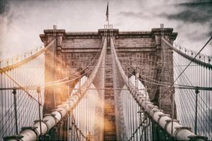 Instants of NY Series - Brooklyn Bridge View by Philippe Hugonnard