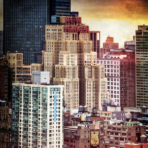 Instants of NY Series - Cityscape Manhattan Buildings by Philippe Hugonnard