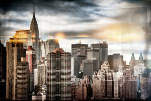 Instants of NY Series - Manhattan View and the Chrysler Building by Philippe Hugonnard