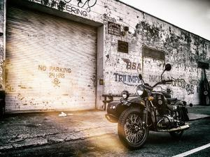 Instants of NY Series - Motorcycle Garage in Brooklyn - Manhattan - New York - United States - USA by Philippe Hugonnard
