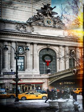 Instants of NY Series - Urban Scene View in Winter by Philippe Hugonnard
